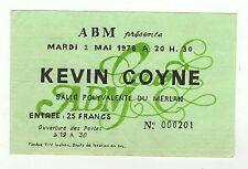KEVIN COYNE un ticket concert/spectacle à Marseille  ABM/B20