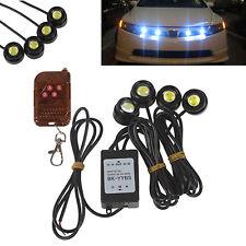Autos Emergency Warning Strobe Flash Eagle Eye DRL Grille Light & Remote Control