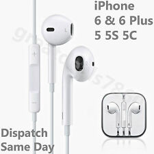 Genuine Apple iPhone 6 5 5S 5C 6 Plus iPod Headphone Earpods Earphones Handsfree