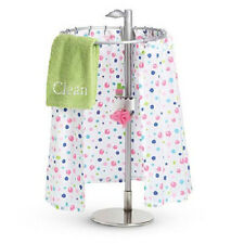 "American Girl MY AG FRESH & CLEAN SHOWER SET for 18"" Dolls Bath Towel DAMAGED*"