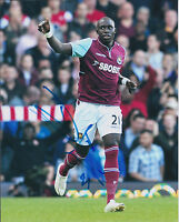 Mohamed MOMO DIAME SIGNED Autograph 10x8 Photo AFTAL West Ham United Authentic