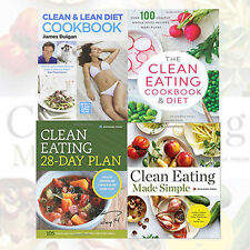 Clean Eating CookBook Collection (Clean Eating Made Simple & more) 4 books Set
