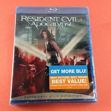 Resident Evil: Apocalypse (Blu-ray/2006) Milla Jovovich/Sienna Guillory ~NEW!~