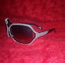 RHINESTONE SUNGLASSES , ACRYLIC  GEMS, CRYSTALS,DIAMANTE,PARTY,WOMENS EYEWEAR