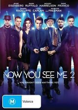 Now You See Me 2 (Dvd) Jesse Eisenberg, Mark Ruffalo Crime, Mystery, Thriller