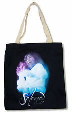 "SELENA ""MIC"" BLACK TOTE BAG NEW OFFICIAL LATIN MUSIC"