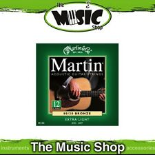 Martin 80/20 Bronze 12-String Guitar Strings 10-47 Extra Light - M180