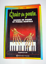 CHAIR DE POULES - LECONS DE PIANO ET PIEGES MORTELS