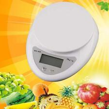 5kg/1g Kitchen Digital Scale LCD Electronic Balance Food Weight Postal Scales RT