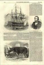 1853 Rattlesnake Arctic Expedition Digby Seymour Mp Sunderland Mardi Gras Paris