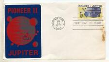 "21483) USA FEB.28 1975 FDC ""Pioneer II _ Jupiter"""