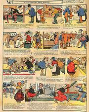 HUMOUR ASSURANCE ACCIDENTS DU BETAIL DESSINS BLONDEAU ILLUSTRATION 1908