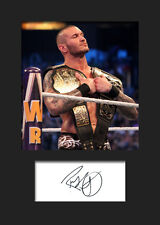 RANDY ORTON #2 (WWE) Signed Photo A5 Mounted Print - FREE DELIVERY