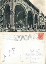 FIRENZE - PIAZZA DELLA SIGNORIA - LOGGIA DEI LANZI            (rif.fg.7434)