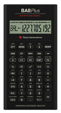 Texas Instruments BA-II Plus Pro Financial Calculator