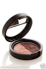 NEW LAURA GELLER BAKED IMPRESSIONS EYESHADOW DUO FINE WINES PINK/BURGANDY COLOR