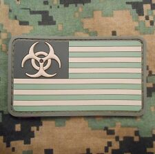 3D PVC ZOMBIE NATION THE WALKING DEAD USA FOREST VELCRO® BRAND FASTENER PATCH