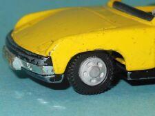 DTGB211.2 - Roue avec pneu pour VW Porsche 914 Dinky Toys 208