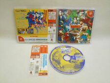 Dreamcast Marvel vs Capcom Clash of Super Heroes GOOD with SPINE * Sega Japan dc