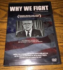 Why We Fight (DVD) New! EUGENE JARECKI