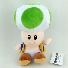 Banktoad Super Mario Bros Green Toad Brigade Plush Soft Toy Stuffed Animal 6""