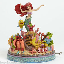 STATUE MUSICALE DISNEY TRADITIONS ARIEL LA PETITE SIRENE / MERMAID UNDER The SEA