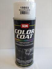 Sem SAILCOAT WHITE 15603color coat Vinyl/Carpet auto body shop restoration paint