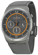 Skagen SKW6135 Melbye Grey Dial Grey Ion Plated Chronograph Men's Watch