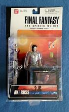 AKI ROSS FINAL FANTASY THE SPIRITS WITHIN BAN DAI BANDAI FIGURE