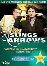 Slings  Arrows - The Complete Collection (DVD, 2008, 7-Disc Set) *FREE SHIPPING*