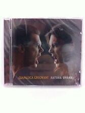 Italian Music Cd Artist Gianluca Grignani Natura Umana Musica Italiana CD New