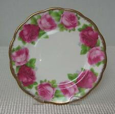 "OLD ENGLISH ROSE Royal Albert 6 1/4"" BREAD & BUTTER SIDE PLATE China England"