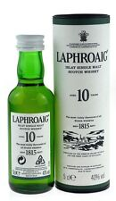 Laphroaig 10 anni 0,05l SINGLE ISLAY MALT SCOTCH WHISKY Incl. SCATOLA REGALO