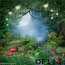 Fairy tale Sottile Vinile sfondo Fotografia Foto CP fondale Sostegno 3X3M DF114