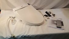 TOTO SW2044-01 Washlet C200 Elongated Toilet Seat with Remote Control, Cotton Wh