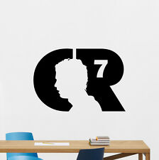 Cristiano Ronaldo Wall Decals CR7 Sport Gym Football Vinyl Sticker Decor 162hor