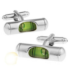 1 Pair Level hourglass silver Mens Wedding Party Gift shirt Cuff links Fasion