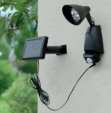Solar Powered 9 LED PIR Motion Sensor Security Garden Outdoor Light Porch She