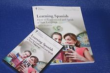 The Great Courses ~ Learning Spanish ~ DVDs & Book ~ Brand New!