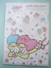 2016 Sanrio Little Twin Stars A4 File Folder Stationery~ NEW