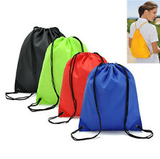 Home String Drawstring Travel Backpack Cinch Sack Gym Tote Bag School Sport Pack