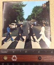 """THE BEATLES ABBEY ROAD 4""""x4"""" SQUARE STICKER NEW"""