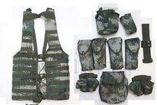 China PLA Army Type 07 Digital Universal Camo Tactical MOLLE Vest -10 Pouch Gear