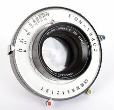 Kowa Graphic 305mm F9 lens for Large format and ULF (Computar) in copal #3s