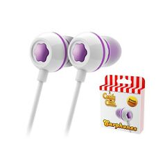 CANDY CRUSH IN-EAR HEADPHONES GRAPE PURPLE - IPHONE TABLET SMARTPHONE IPAD
