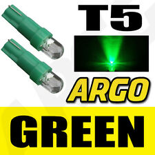 T5 286 LED ULTRA GREEN DASHBOARD LIGHT BULBS XENON HID 12V LAMP  DIALS WEDGE CAR