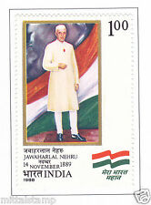 PHILA1170 INDIA 1988 PANDIT JAWAHARLAL NEHRU BIRTH CENTENARY MNH