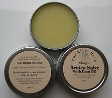 The Elder Herb Shoppe 100% Natural Arnica Salve Emu Oil 1 oz.