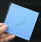 100PCS Lot 10X10x1MM SMD DIP IC Chip Heatsink Thermal Compounds Paste Pad Pads