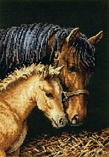 """Dimensions Gold Counted Cross Stitch Kit 5"""" x 7"""" ~ GENTLE TOUCH #70-65156"""